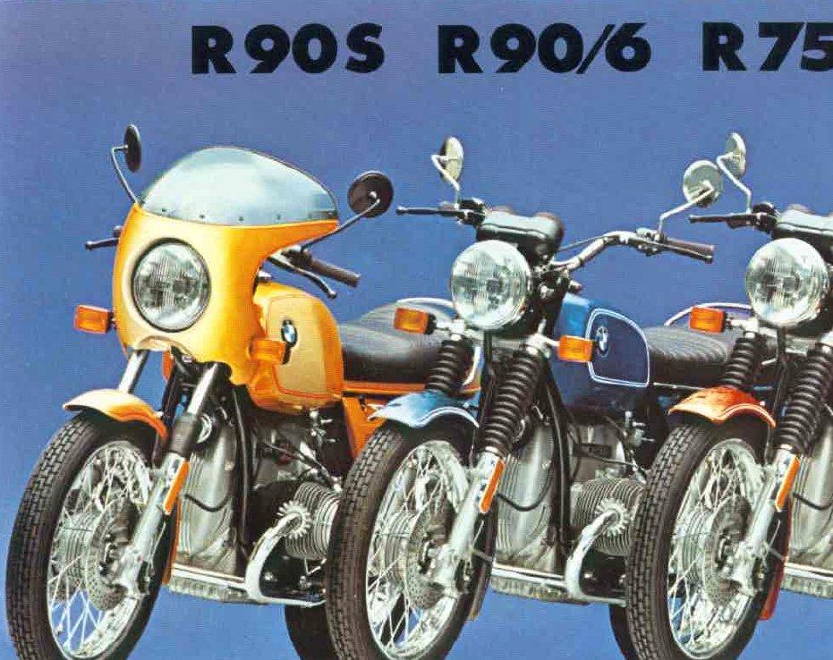 R90S de 1976 Peinture